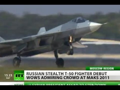 MAKSimize It: 'Russian Stealth' PAK FA T-50 debut wows Moscow air show