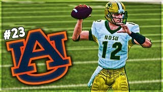 North Dakota State Takes On First Ranked Team In Auburn! | NCAA 14 Dynasty Ep 5