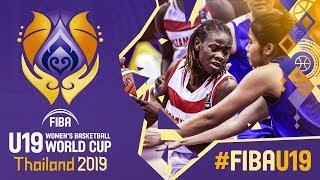 Mozambique v Thailand - Full Game - FIBA U19 Women's Basketball World Cup 2019