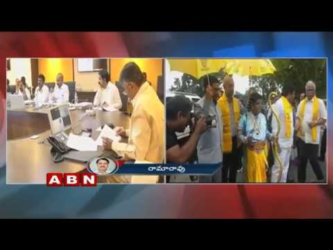 TDP MPs Protest Continues | MP Shiva Prasad Protest in Lord Sri Rama Getup | ABN Telugu