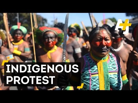 Indigenous Protests In Brazil