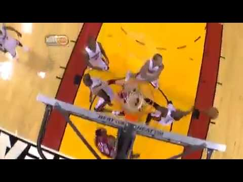 dwyane wade dunk over kendrick perkins. Dwyane Wade insane DUNK vs