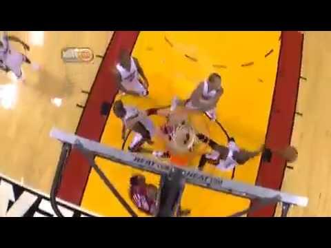 dwyane wade dunk over kendrick perkins. Dwyane Wade insane DUNK vs