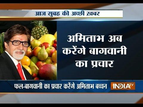 Amitabh Bachchan become Maharashtra's horticulture ambassador
