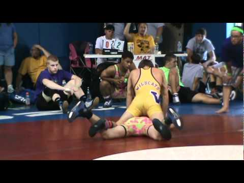 Nate Schwab (Ragin Raisins) vs. Justin Corradino (Lake Erie House Team) 133.mpg
