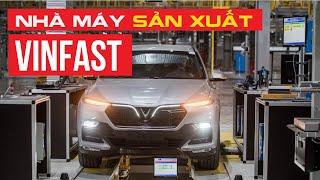 VinFast khoe nhà máy SẢN XUẤT Ô TÔ ĐÚNG NGHĨA đầu tiên ở Việt Nam   Whatcar.vn