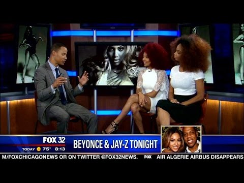 Beyonce's dancers preview the Beyonce and Jay Z concert