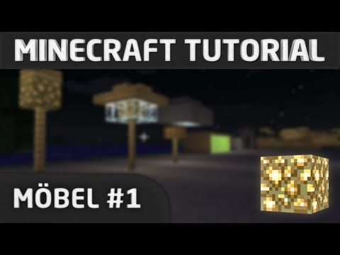 Minecraft Tutorial: Möbel #1