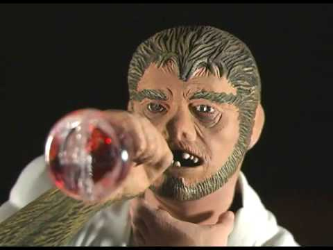 Monster Model Review #69 Dr. Jekyll as Mr. Hyde by Moebius Models