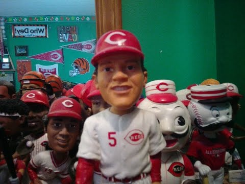 Johnny Bench Bobblehead Review Youtube