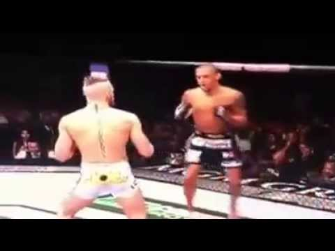 Video: Conor McGregor knocks out Dustin Poirier