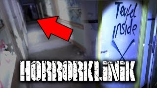 LOST PLACES | SCHOCKMOMENT in der HORRORKLINIK