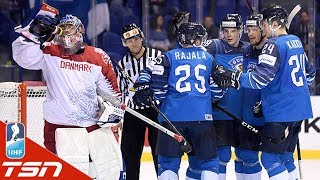 Kaapo Kakko scores again as Finland defeats Denmark