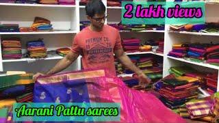 அண்ணா நகரில் ஆரணி பட்டு நேரடி விற்பனையில்... Anna nagar silk  sarees &  wholesale and retail sarees.