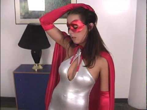 Superheroine Captured!