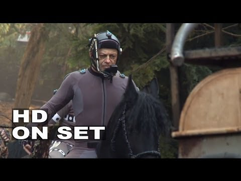 Dawn Of The Planet Of The Apes: Behind The Scenes (movie Broll) 1 Of 2 video