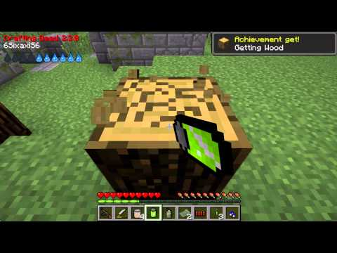 Minecraft Crafting Dead ep: 1 A ARMY BASE!