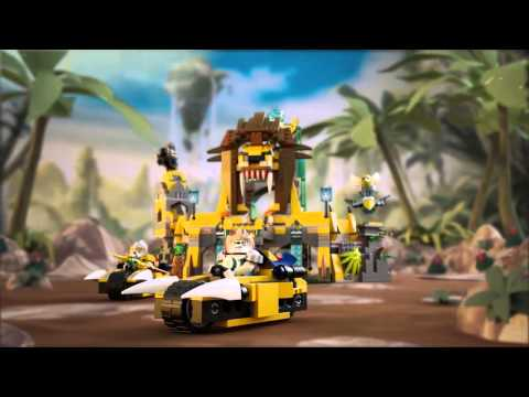 Lego Legends of Chima | 70010 | The Lion Chi Temple | Lego 3D Review