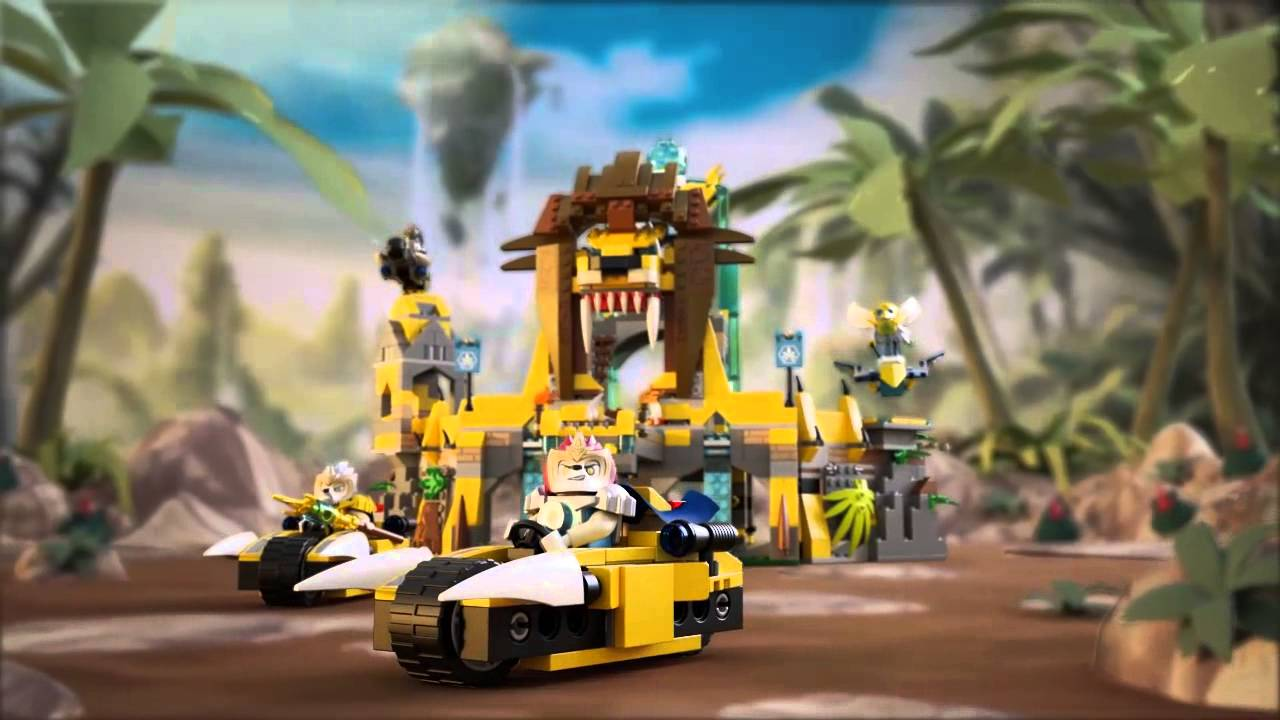 Lego legends of chima 70010 the lion chi temple lego 3d review youtube - Image de lego chima ...