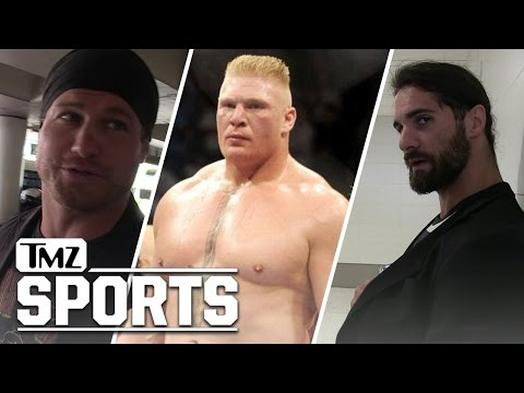 Seth Rollins & Dolph Ziggler Weigh In on Brock Lesnar's UFC 200 Fight