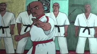 Bruce Lee animated fight scene.wmv