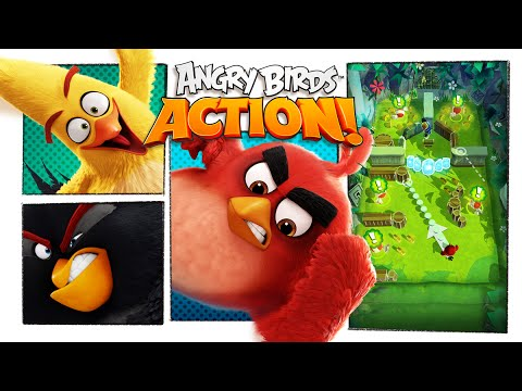 Angry Birds Action! – Cinematic Trailer