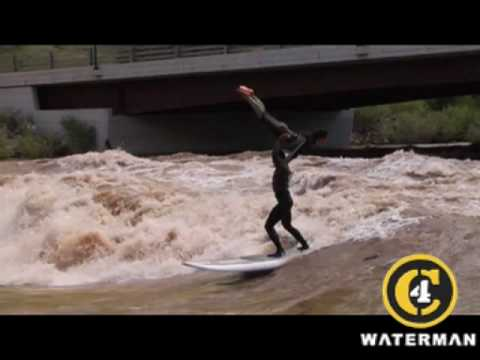 C4 Waterman Tandem Surfing in Colorado River
