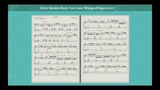 Janam Janam (Dilwale) Western Piano Staff Notations + Chords
