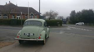 Driving the Morris minor 1000