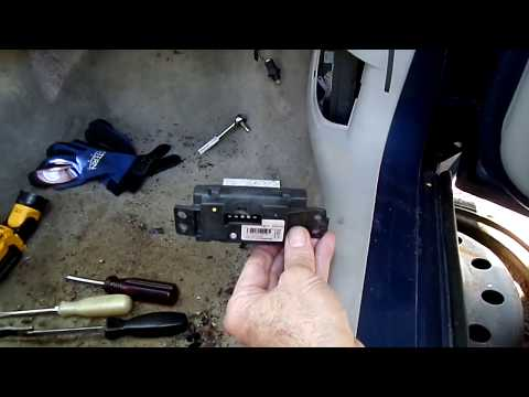Impala Blower Motor & Resistor Removal
