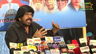 T. Rajendar Urgent Press Meet Regards Issues in Tamil Nadu