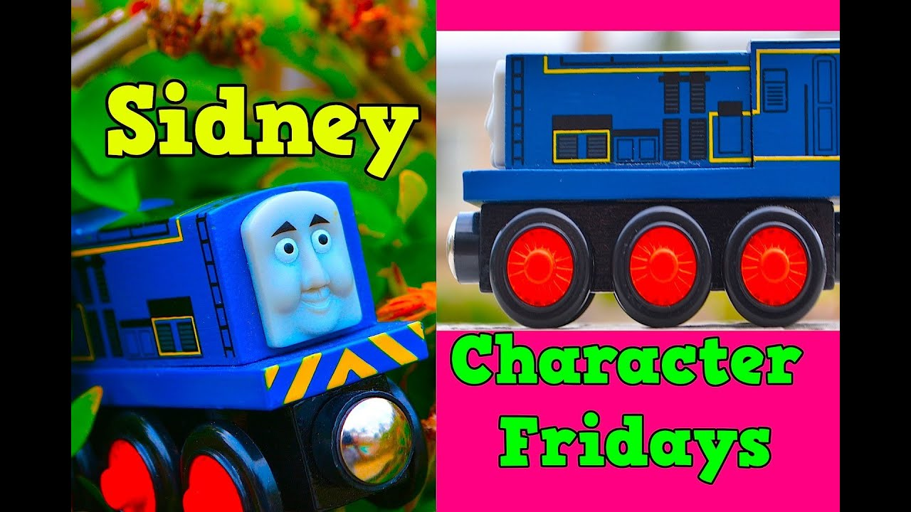 Thomas Amp Friends SIDNEY Character Fridays Wooden Railway