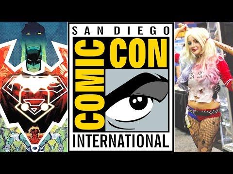 Comic-Con 2015 on Superhero Round-up LIVE!