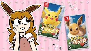 My Overview of Pokemon Let's Go Pikachu & Eevee