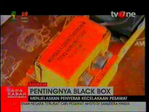penting nya sebuah black box, mh 370 telah di temukan black box