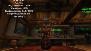 MagisteriumWoW WoW Private Server 3.3.5 World of Warcraft