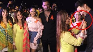 Sunny Leone and Smita Thackeray At 'Freedom Parade' | #SunnyLeone | Bollywood News | Top Telugu Media