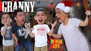 Granny In Real Life Christmas Edition Funhouse Family
