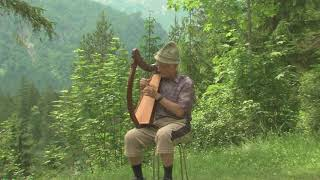 Lap Harp In The Mountains