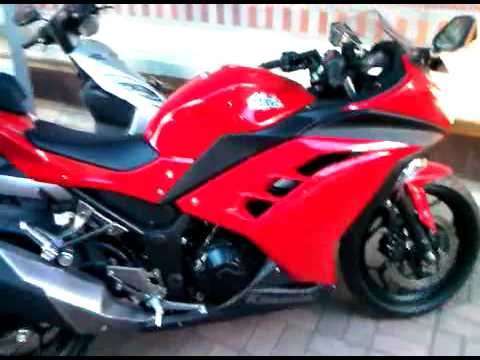 all new 2013 Kawasaki Ninja 250 Fi Upgrade Tire Bridgestone BT 92