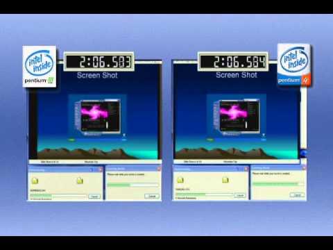 Intel Pentium 4 2.0 GHz vs. Intel Pentium III 1.0 GHz (2001)
