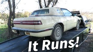 It Runs! || Chrysler TC Restoration/Project || Episode 2