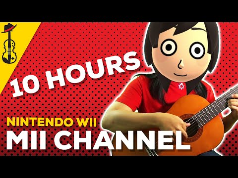 Mii Channel Theme 10 HOURS ViolinViolaGuitar Cover  String Player Gamer