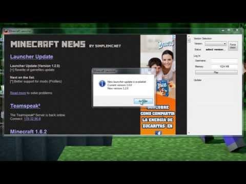 Descargar Minecraft Launcher 1.7.3 No Premium (Pirata) Gratis 2014 !!