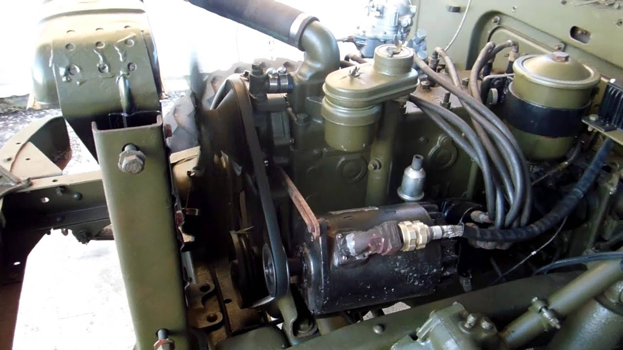 Dodge M37 Engine rebuild - YouTube