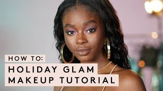 HOW TO: HOLIDAY GLAM MAKEUP TUTORIAL   FENTY BEAUTY