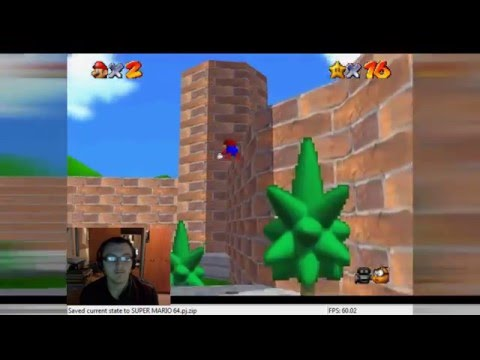 Super Mario 64 Chaos Edition ROM Hack - Part 9 BOO! HAUNTED CASTLE!