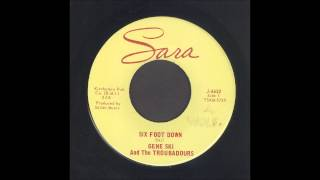 Gene Ski - Six Foot Down - Rockabilly 45