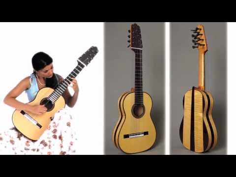 11-string guitar: Johann Sebastian Bach: Sarabande (BWV 995)