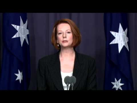 Press Conference Arrangement Gillard Press Conference